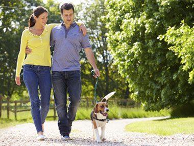 Take a quick walk