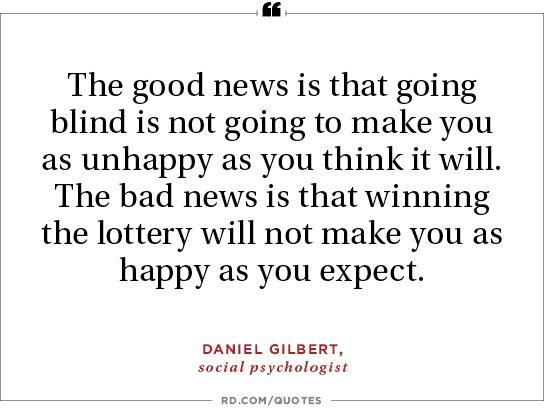 Daniel Gilbert, social psychologist