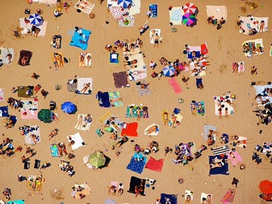 summertime beach towels