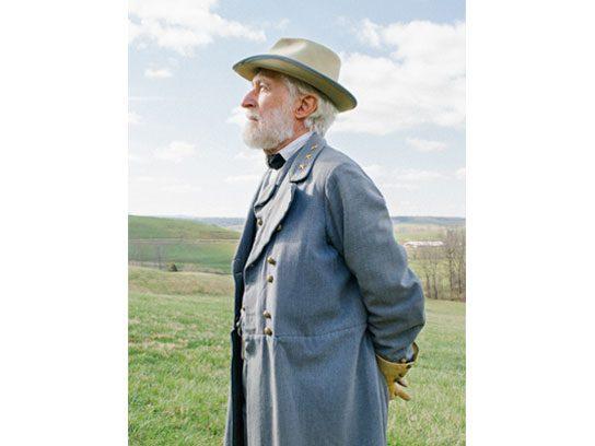 Allan Stamp (Portraying General Lee)