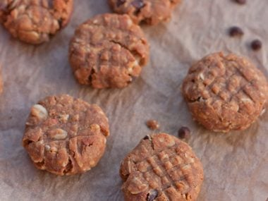 Flourless Peanut Butter Protein Cookies