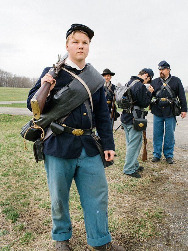 Faces of America: A Civil War Reenactment in Dublin, VA
