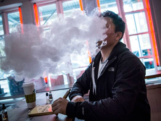 A crackdown on e-cigarettes.