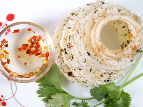 Onion Rings with Thai Dipping Sauce