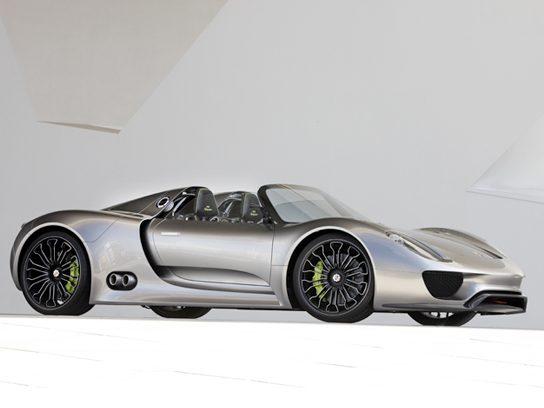 Porsche 918 Spyder Concept Car, 2010