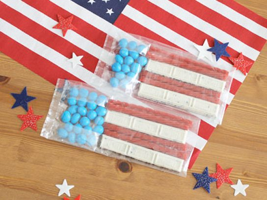 fourth of july goodie bag