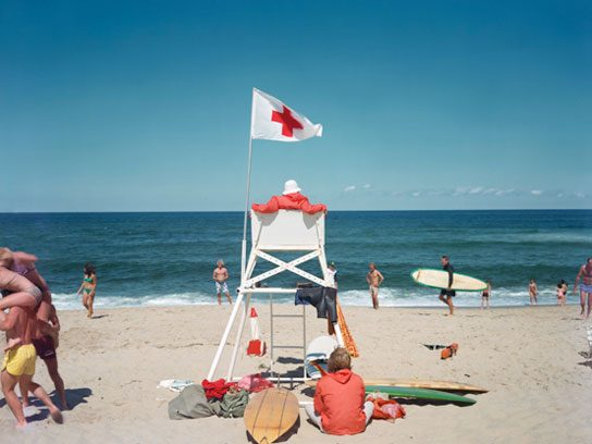 <i>Ballston Beach, Truro, Massachusetts, 1977</i>, Joel Meyerowitz