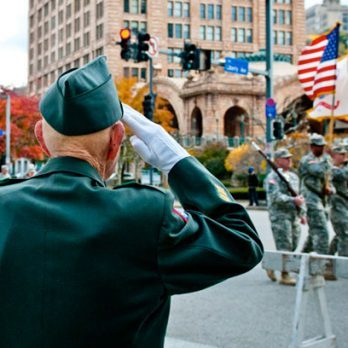 8 Emotional Moments Perfectly Captured by a Soldier's Salute