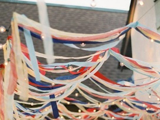 fourth of july streamers