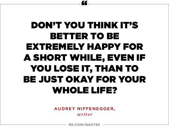 Audrey Niffenegger, writer