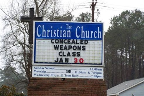 2nd amendment, or new commandment?