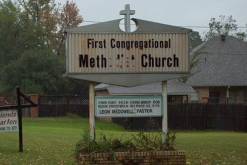 We're a little concerned about your addiction to church.
