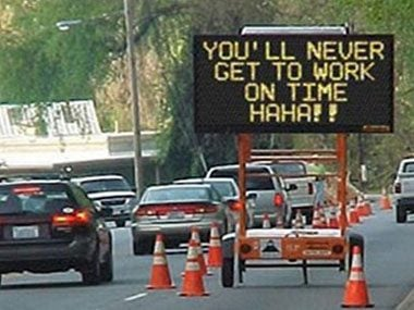 Funny Road Signs Worth Slowing Down For Readers Digest - 32 hilarious construction fails by people who probably got fired