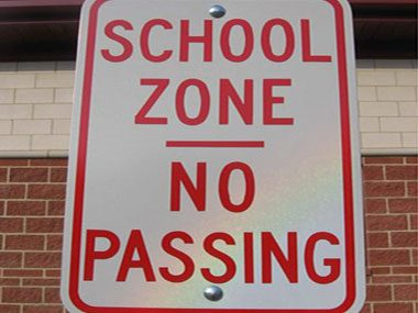 Wish we lived in a different school zone.