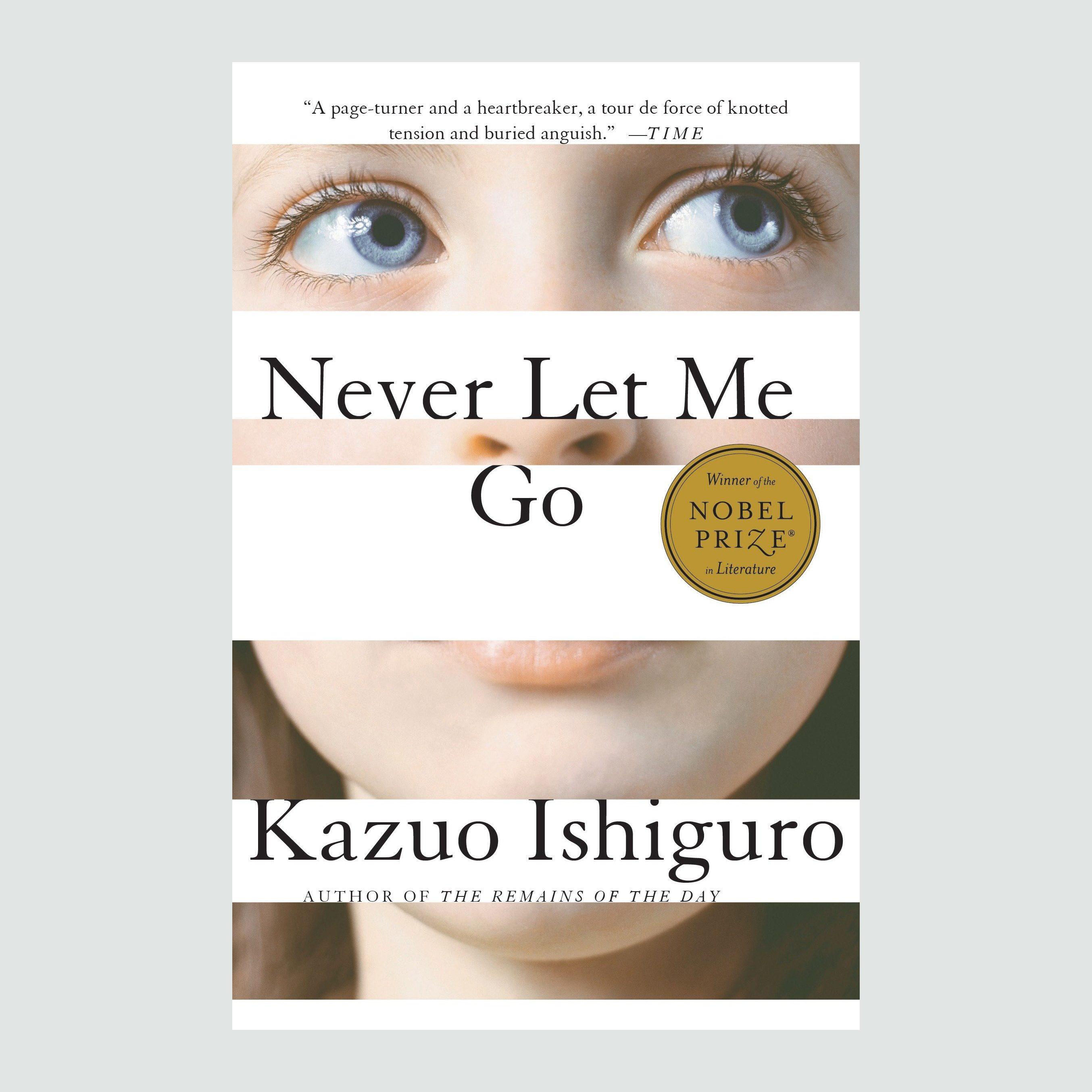 Kazuo Ishiguro nevet let me go author book