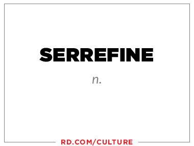 serrefine (n.)
