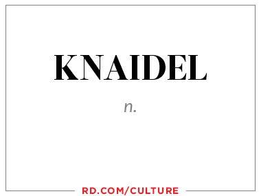 knaidel (n.)