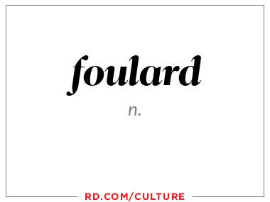 foulard (n.)
