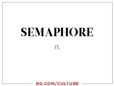 semaphore (n.)