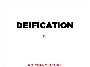 deification (n.)