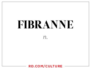 fibranne (n.)