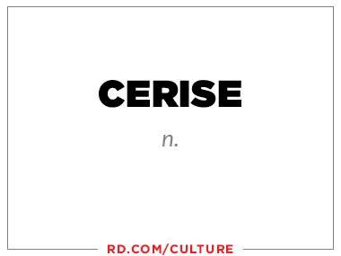 cerise (n.)
