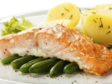 salmon and omega 3