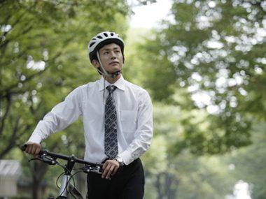 riding bike