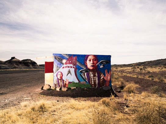 """""""People have said that they've driven through the rez, and they just don't have a sense of the people there."""""""