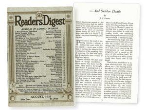 August 1935 RD Classics