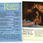 A Reader's Digest Classic: Washington's Prayer at Valley Forge