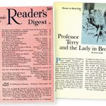 A Reader's Digest Classic: Professor Terry and the Lady in Brown