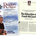 The Inspiring Story of How Frank McCourt Won a Pulitzer