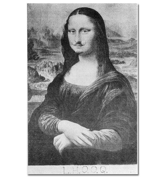 L.H.O.O.Q., Duchamp, 1919
