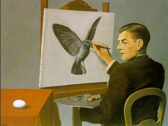 Rene Magritte The Funny