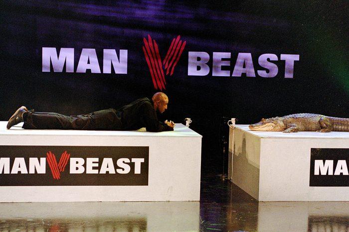 'Man Vs Beast' TV John Fashanu