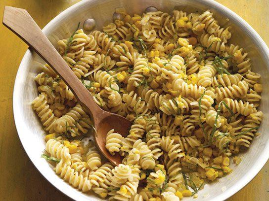Fusilli with Corn Sauce