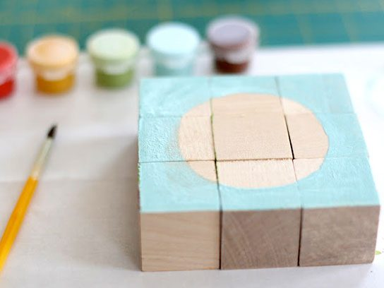 Painted Block Puzzle