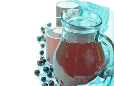 UTI home remedy: Pure cranberry juice