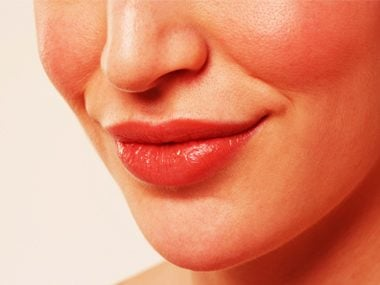 Plump your lips.