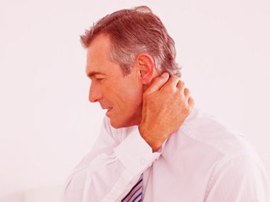Soothe neck pain.