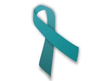 ovarian cancer ribbon