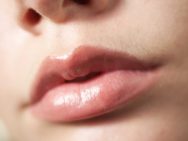 For the appearance of fuller lips...