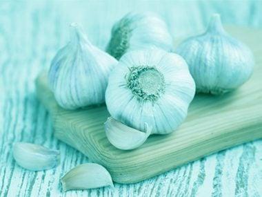Horseradish and garlic