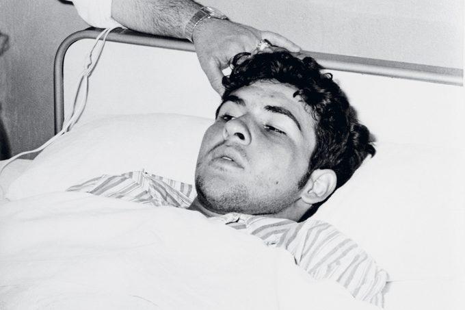 Socarras Ramirez in 1969, in his hospital bed in Madrid