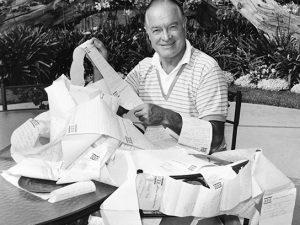 Bob Hope birthday letter June 15 1966 North Hollywood
