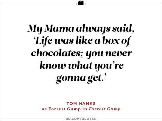 My Mama always said,