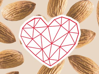 almond milk heart health