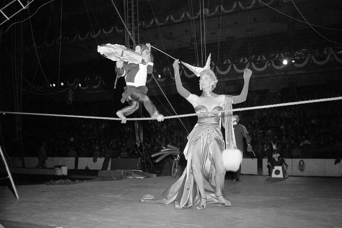 Circus Chimp 1949, New York, USA