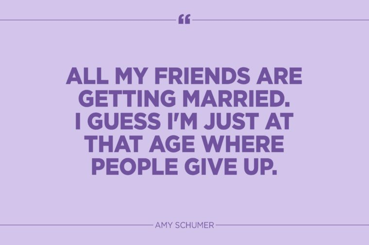 Funny Marriage Quotes That Might Actually Be True Reader's Digest Amazing Just Married Quotes